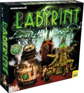 labyrint barn spel